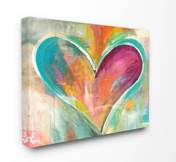 Vivid Heart Wall Plaque