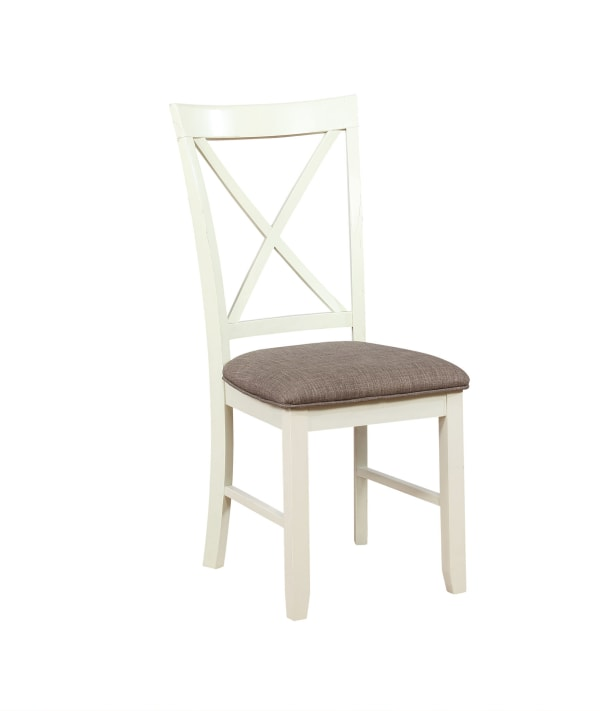 White Dining Chair Set of 2