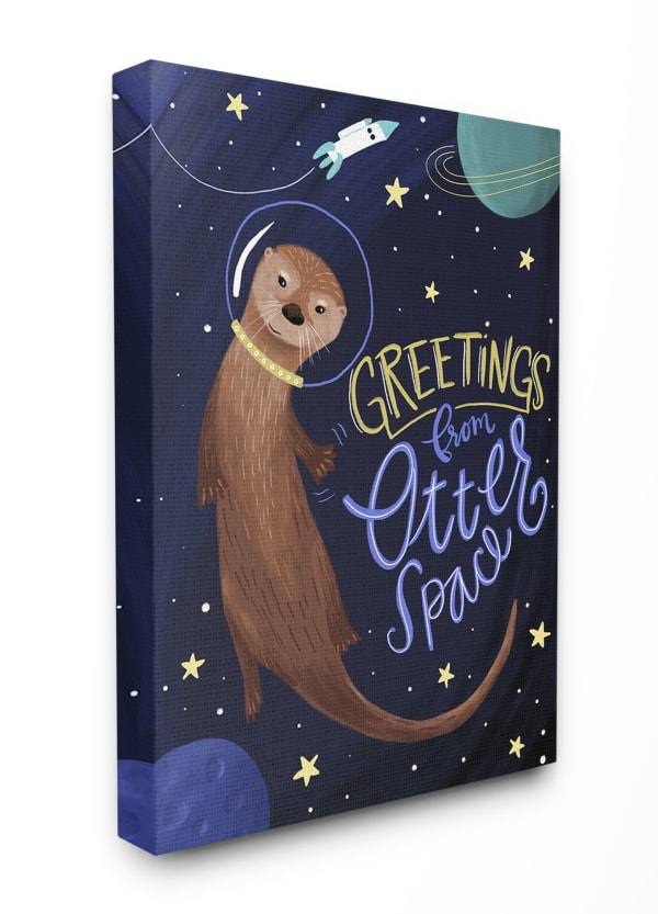 Greetings from Space Wall Art