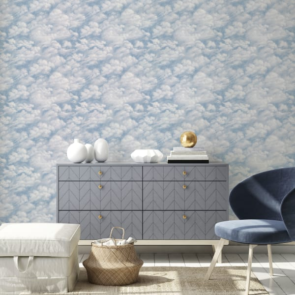 Clouds Removable Wallpaper