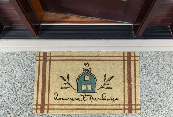 Home Sweet Farmhouse Doormat