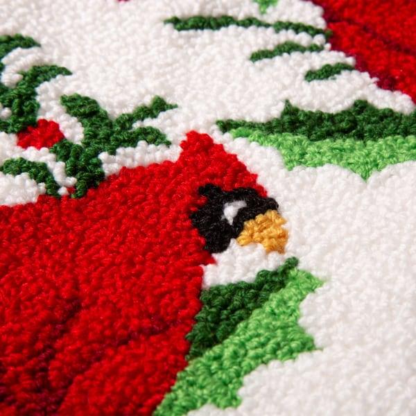 Cardinal Hooked Stocking