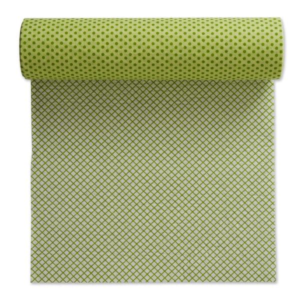 Green Dots Shelf Liner (Set of 2)