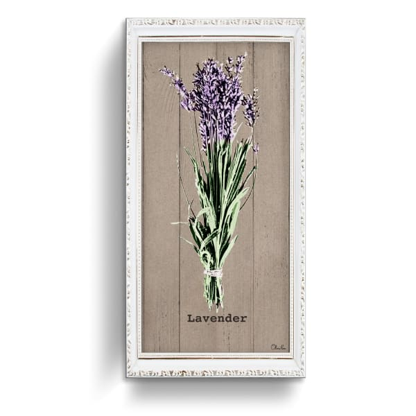 Lavender Herb Purple Canvas Wall Art