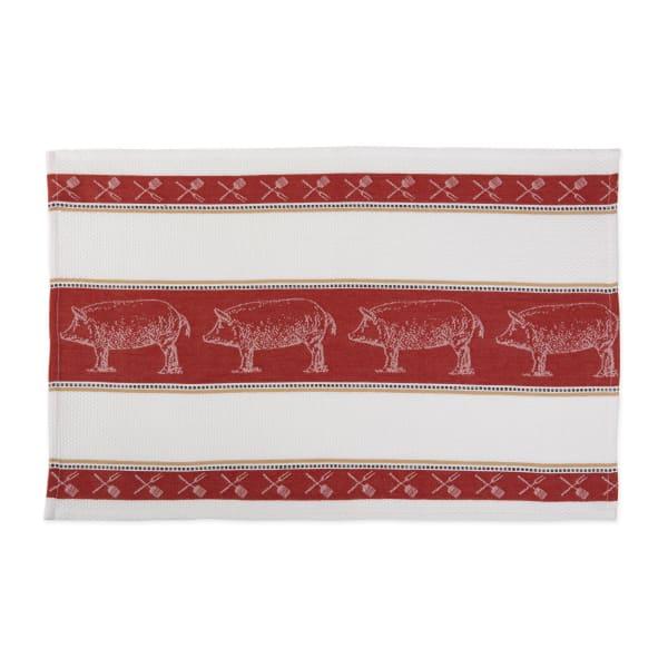 Pig Jacquard Dishtowel (Set of 3)