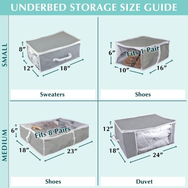 Chevron Soft Storage 24x18x12 Set/2