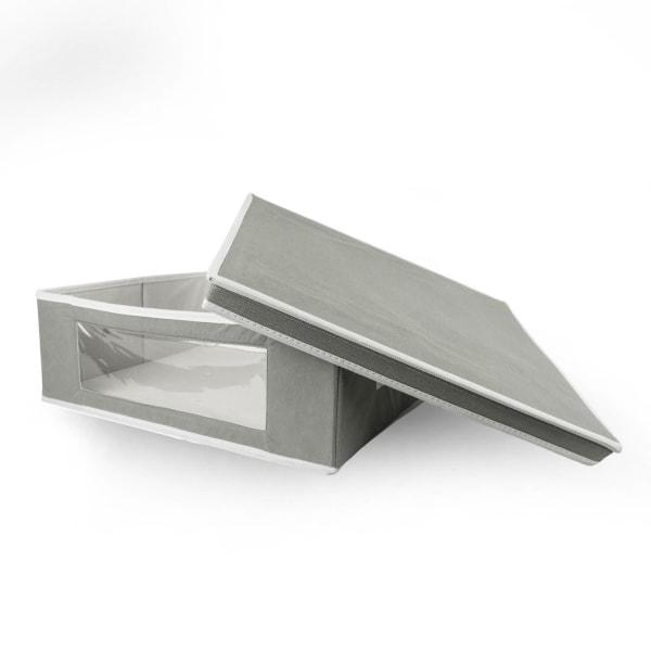 Closet Storage Cube Gray