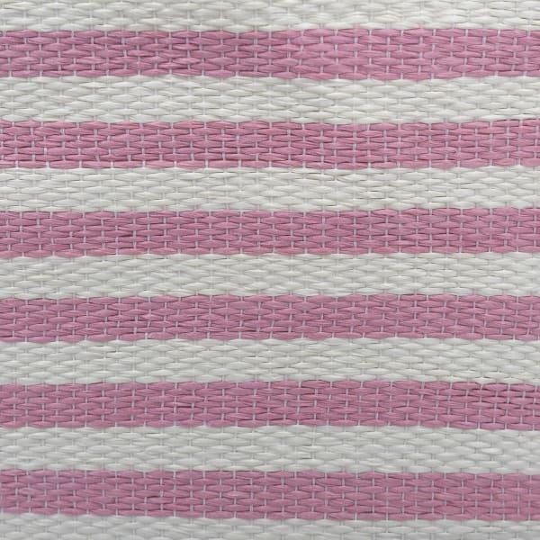 Paper Bin Pinstripe Rose Rectangle Large 17x12x12