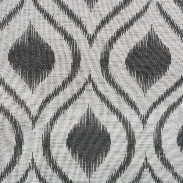 Polyester Bin Ikat Mineral Rectangle Medium 16x10x12