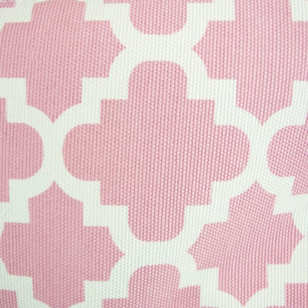 Polyester Bin Lattice Rose Round Large 15x16x16