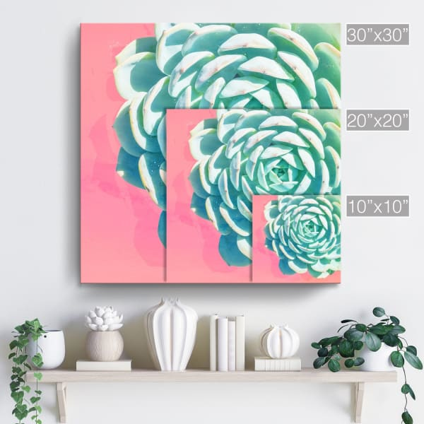 Bright-eyed II Multicolored Canvas Wall Art