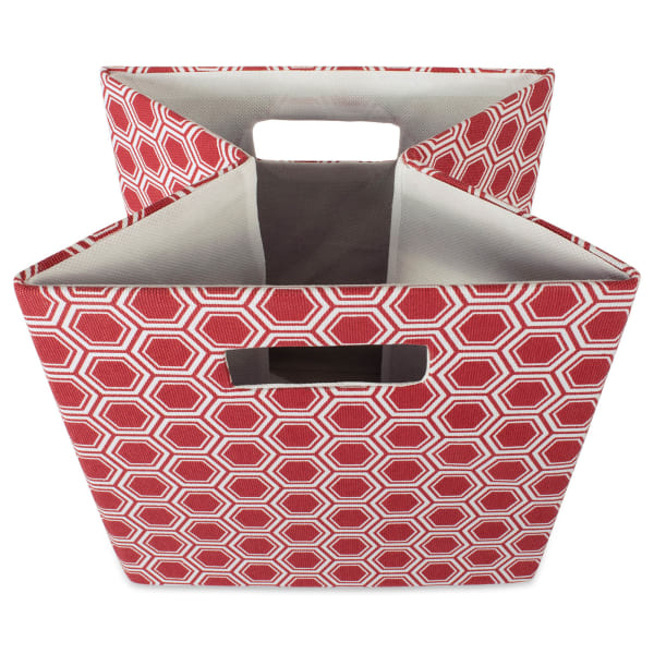 Polyester Cube Honeycomb Rust Square 11x11x11