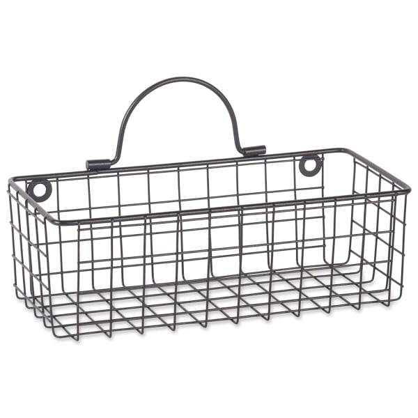 Wire Wall Basket(Set of 2) Grey
