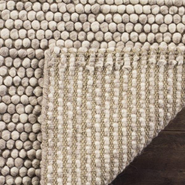 Tan Wool Rug 6' x 9'