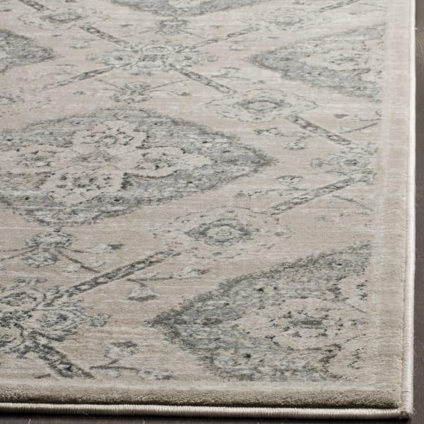 Gray Polypropylene Rug 2.5' x 9'
