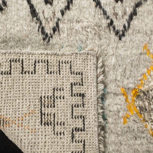 Natural Wool Rug 6' x 9'