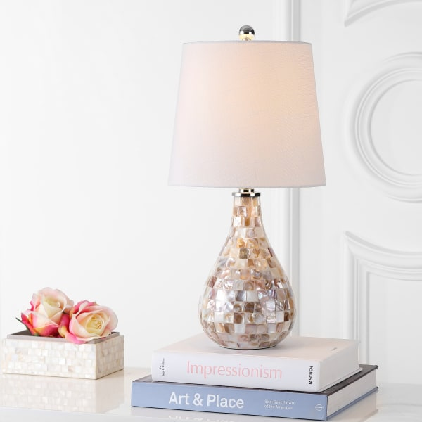 Mosaic Seashell Table Lamp