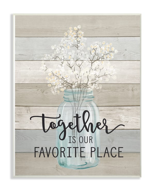 Together Plaque Art