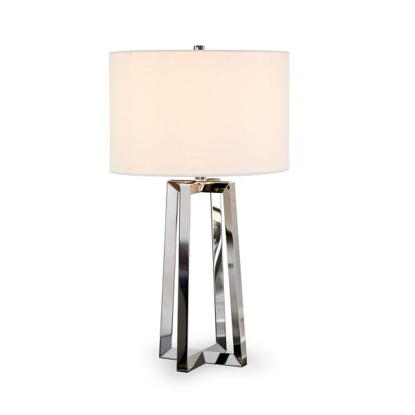 Nickel Table Lamp