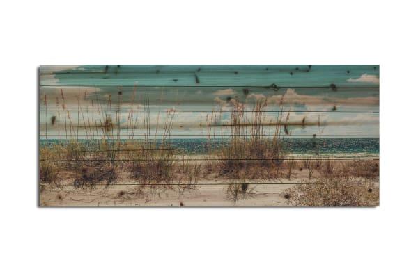 Sand Dunes Small Print on Wood