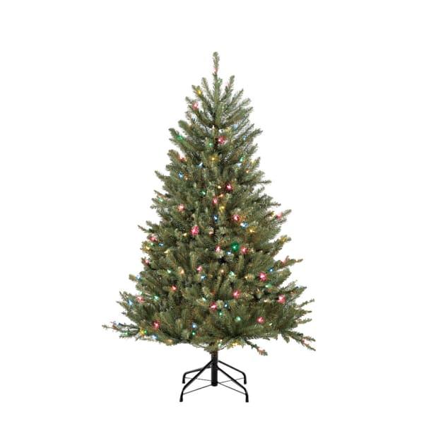 4.5' Pre-Lit Fraser Fir Artificial Christmas Tree