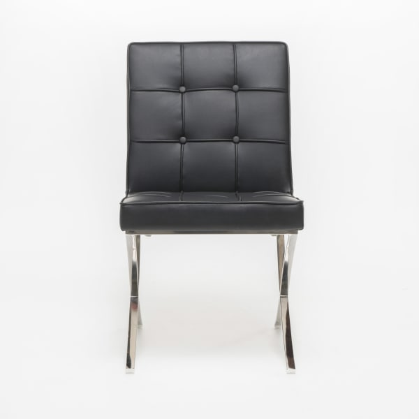 Black Dining Chairs Set of 2