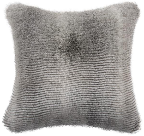 Wavy Luxe Gray Pillow