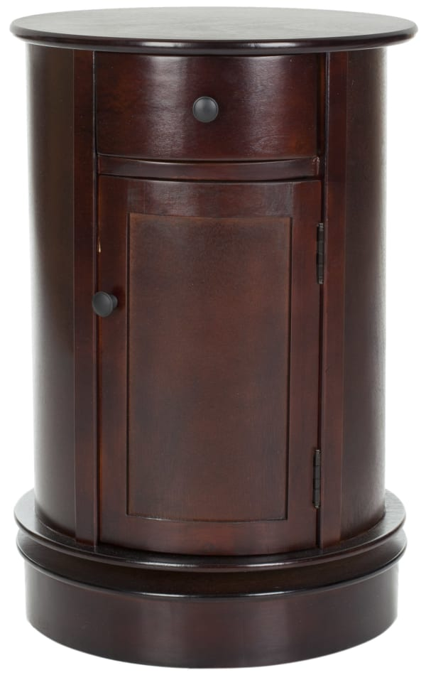 Hannah Brown Swivel Accent Table