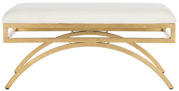 Amelia Linen Arch Bench