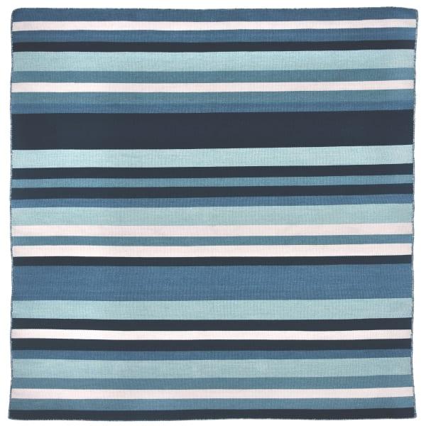 Blue Tribeca Square Rug 8'