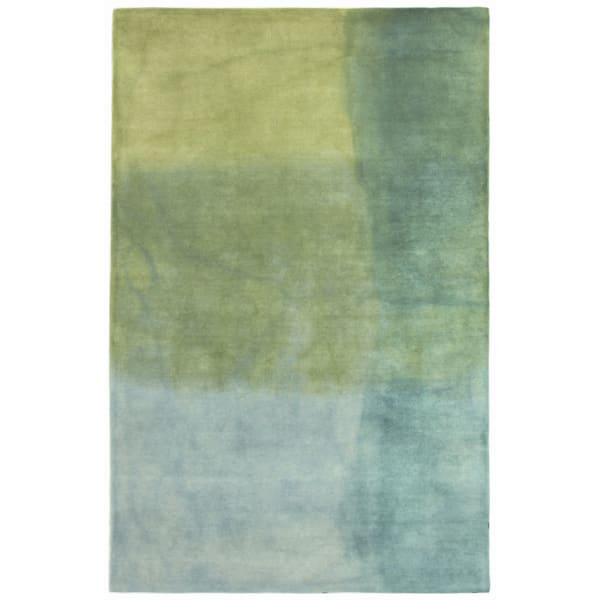 Blue Watercolors Indoor Rug 5' x 7'6