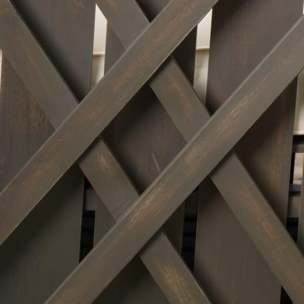 Gray Acacia Wood 4-Piece Set