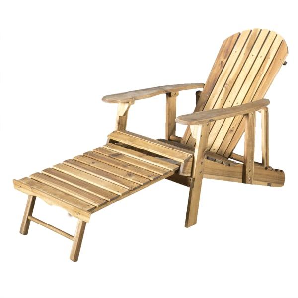 Natural Reclining Adirondack Chair