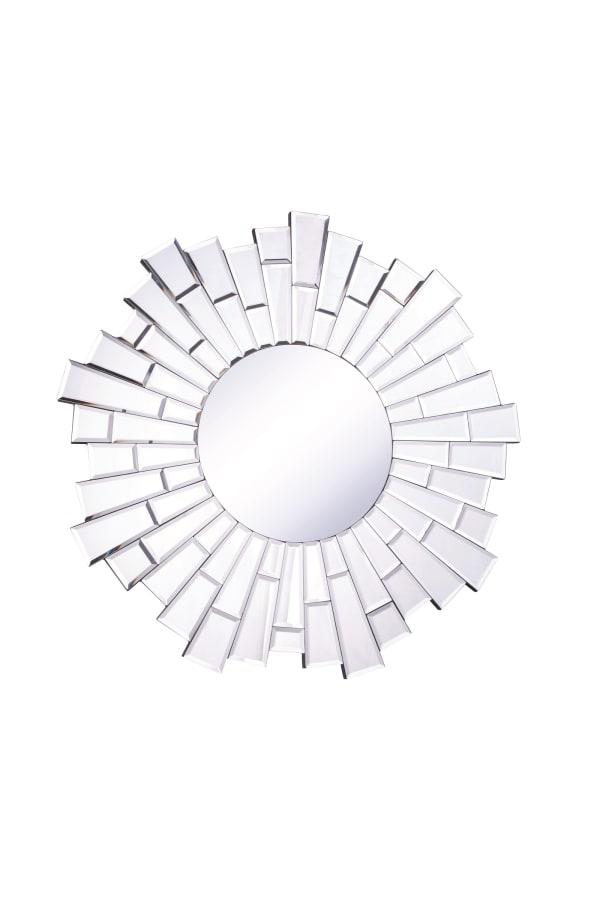 Clear Round Mirror