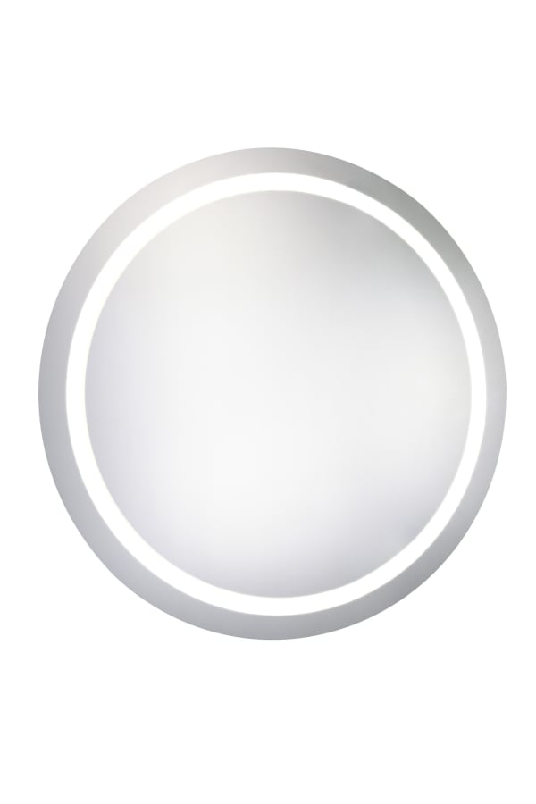 Dimmable LED Round Mirror