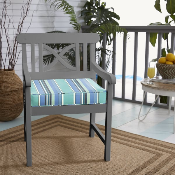 Seat Cushion In Dolce Oasis Pier, Pier 1 Outdoor Furniture Cushions