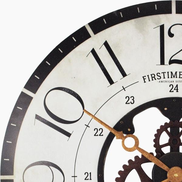 Carlisle Gears Multicolor Wall Clock