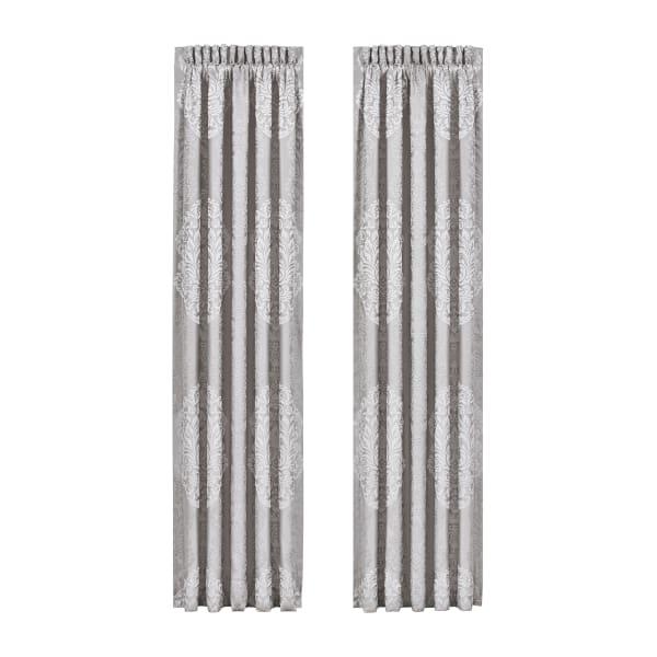 Silver Curtain Pair 84