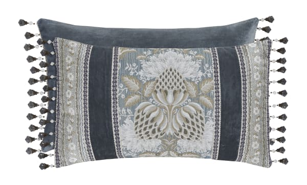 Boudoir Blue Pillow