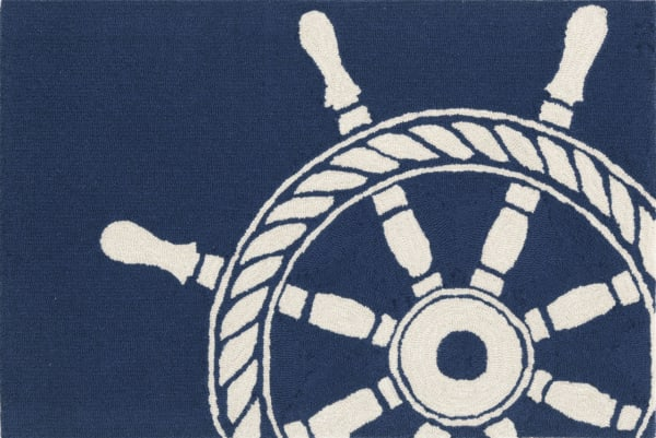 Ship Wheel Navy 2'5