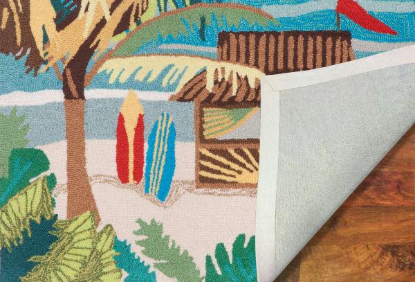 Tiki Hut 2' x 5' Rug