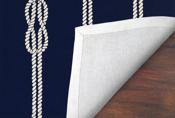 Navy Ropes 2' x 8' Runner