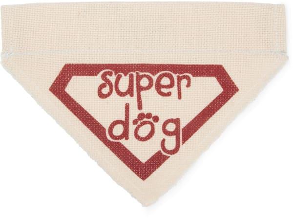 Super Dog Small Slip on Pet Bandana