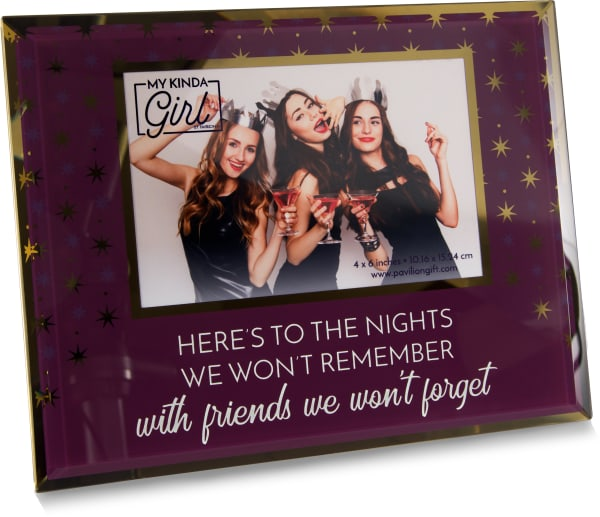 Friends We Won't Forget 4x6 Photo Frame