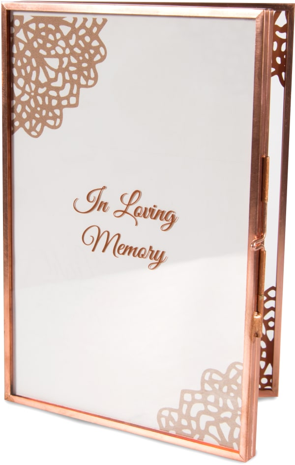 Heaven Memorial 4x6 Photo Frame
