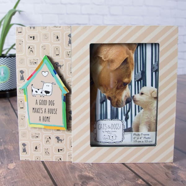 Good Dog 4x6 Photo Picture Frame