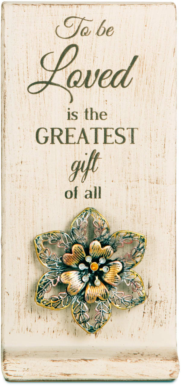 Love Ceramic Plaque