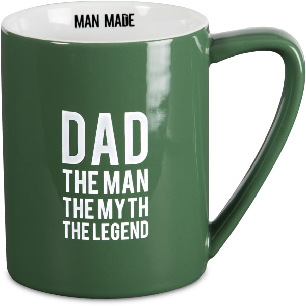 Dad the Man the Myth the Legend Mug