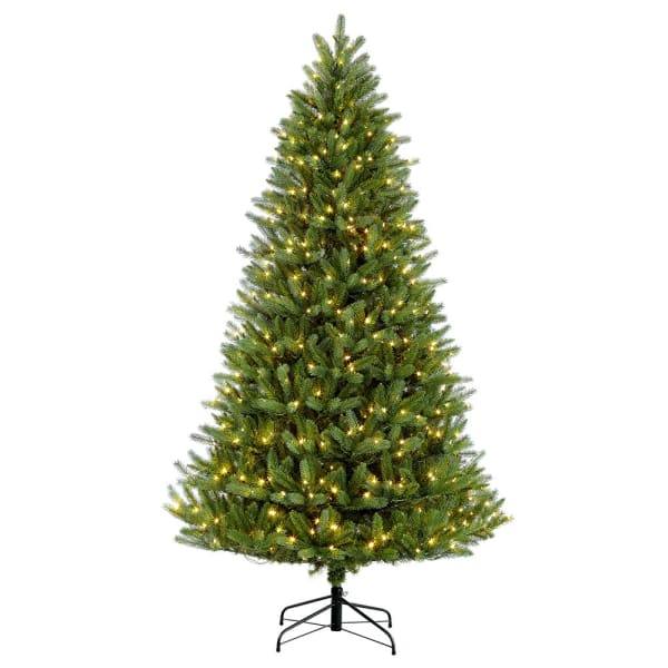 9' Pre-Lit Glacier Fir Artificial Christmas Tree