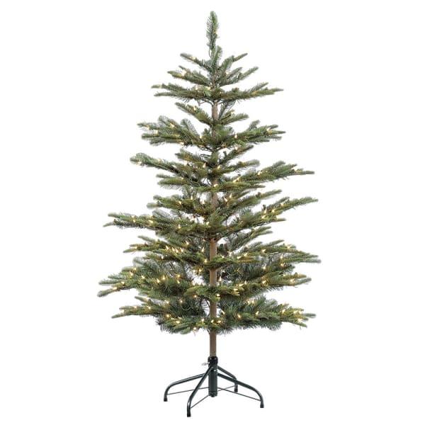 4.5' Pre-Lit Aspen Fir Christmas Tree